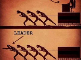boss vs. leader size