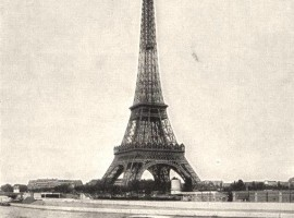 eiffel tower old